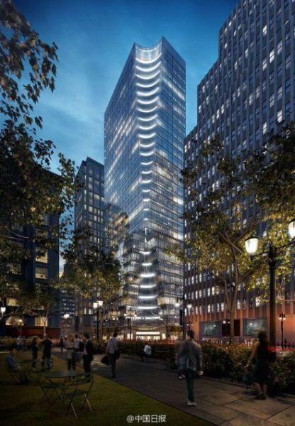 占领华尔街?中国银行将斥资6亿美元购买曼哈顿办公楼(图)_图1-1