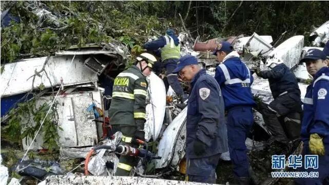 哥伦比亚飞机失事71人