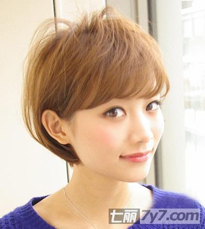 2013年女生流行短发发型 高清图片