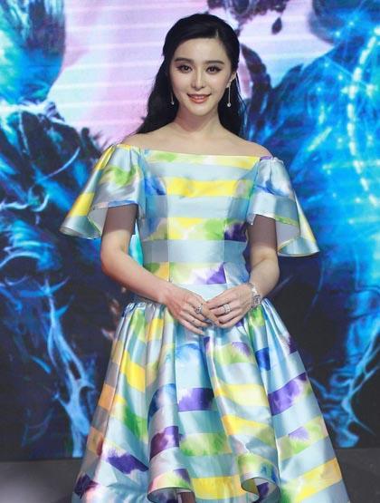 范冰冰是唯一进榜的亚洲女星