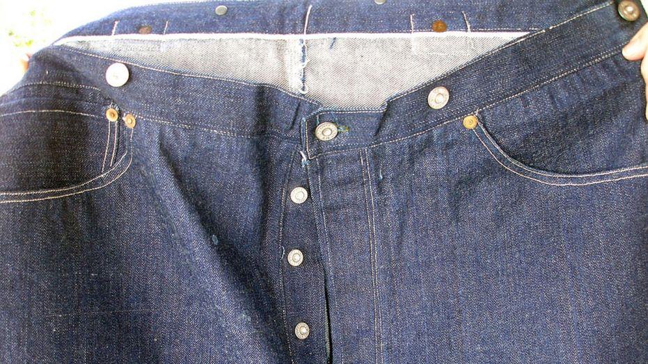 亚洲神秘买家花10万美元买了一条旧牛仔裤