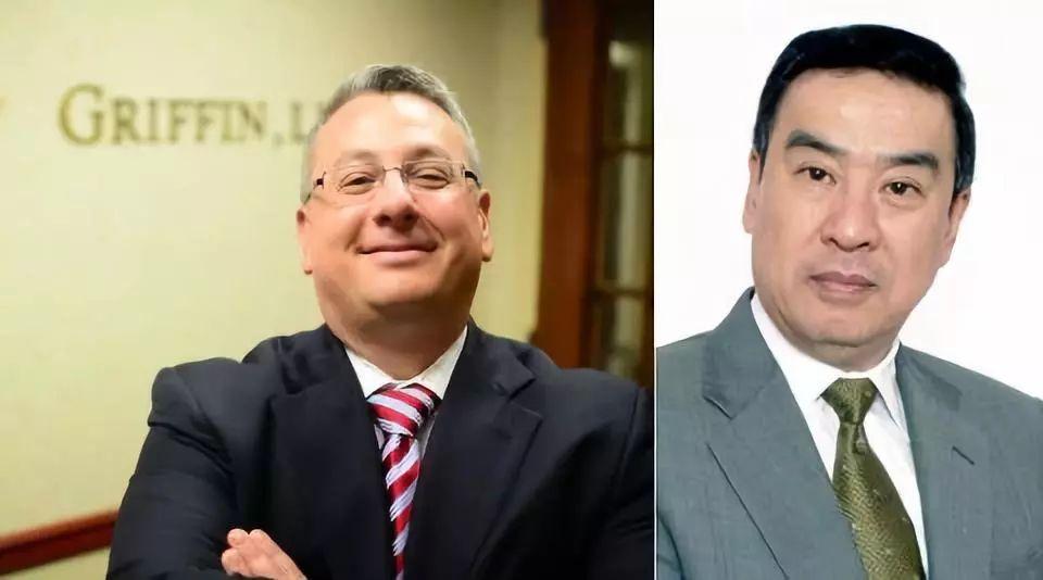 ▲第二任律师丹尼尔(左)与第一任律师莫虎(右) 图据官网截图