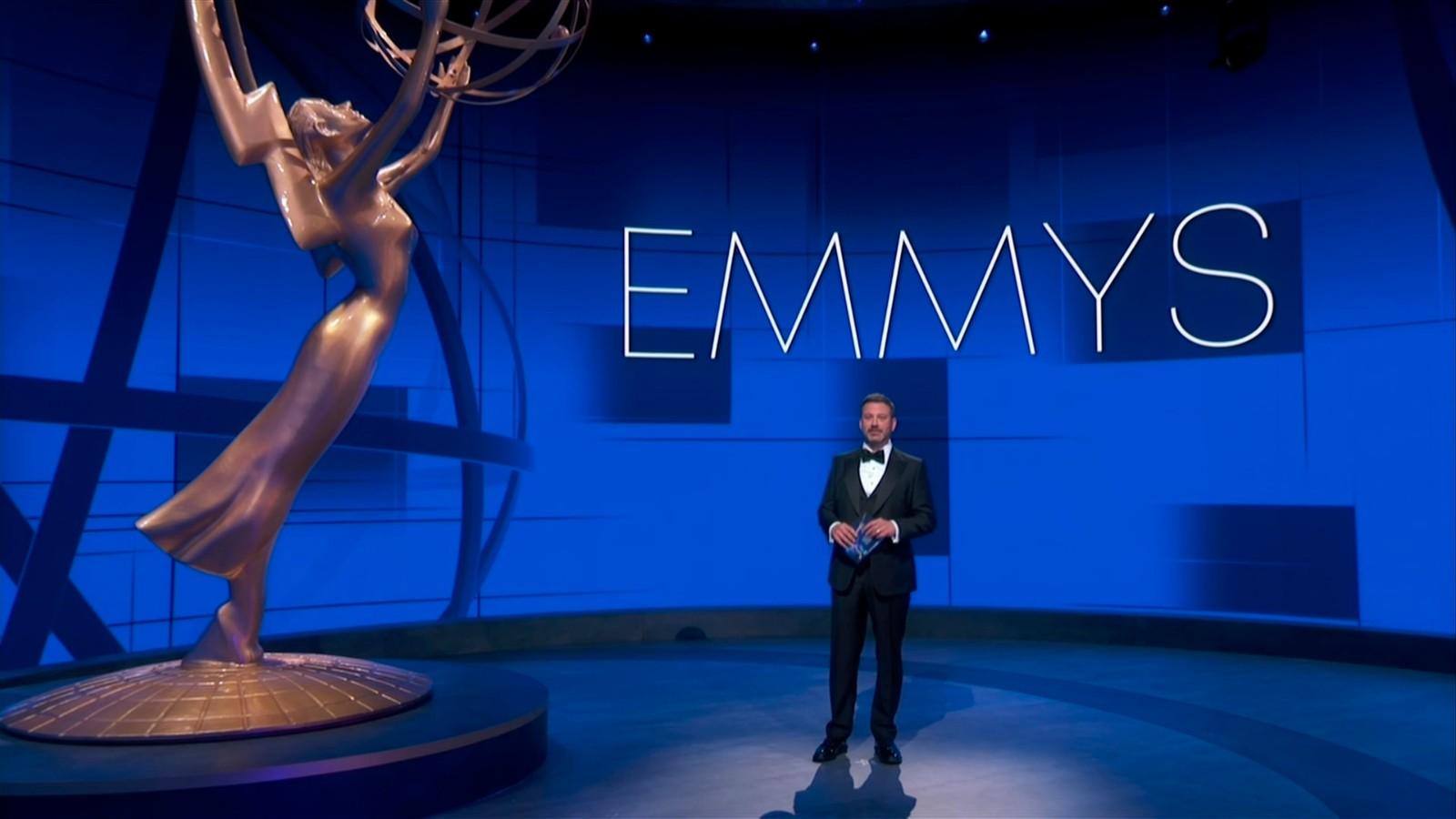 第72届艾美奖颁奖典礼洛杉矶举行 有史以来最惨淡收视_图1-1