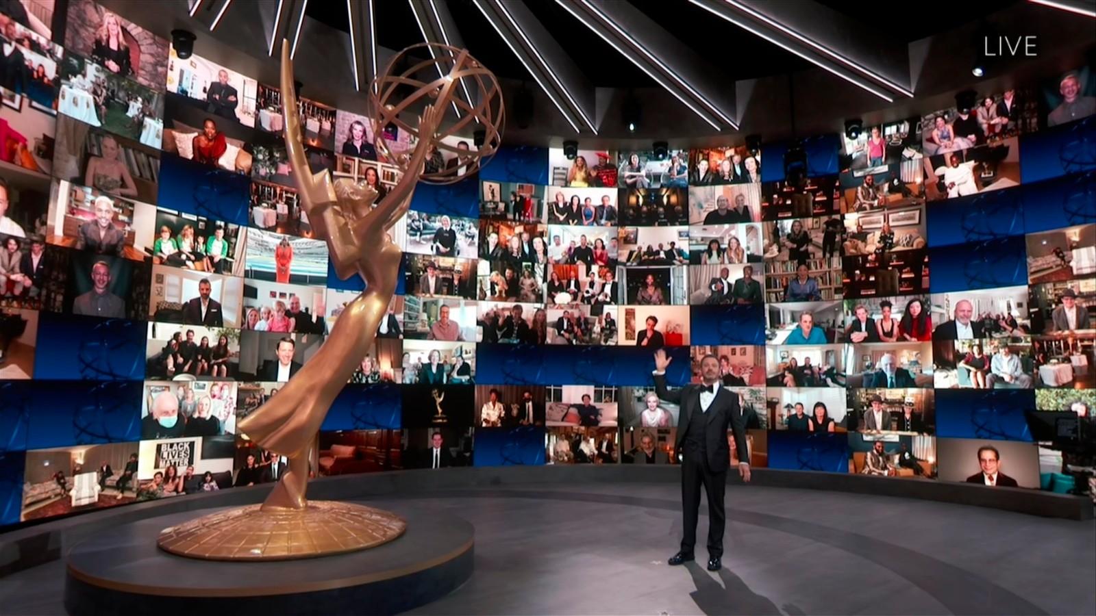 第72届艾美奖颁奖典礼洛杉矶举行 有史以来最惨淡收视_图1-4