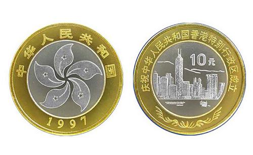香港回归纪念币价格多少
