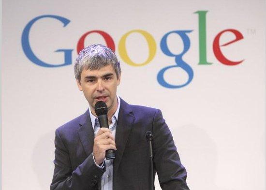 拉里・佩奇,谷歌CEO