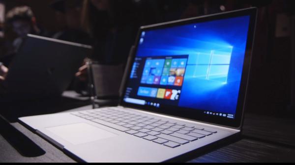 微软首款笔记本电脑亮相引发惊呼 目标是挑落苹果Mac_图1-1