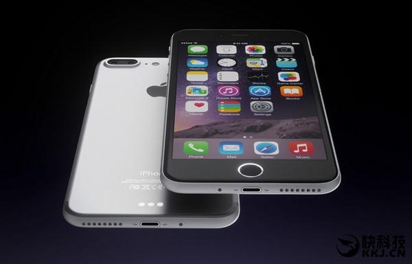 喜大普奔!iPhone 7新特性确定:32GB起步