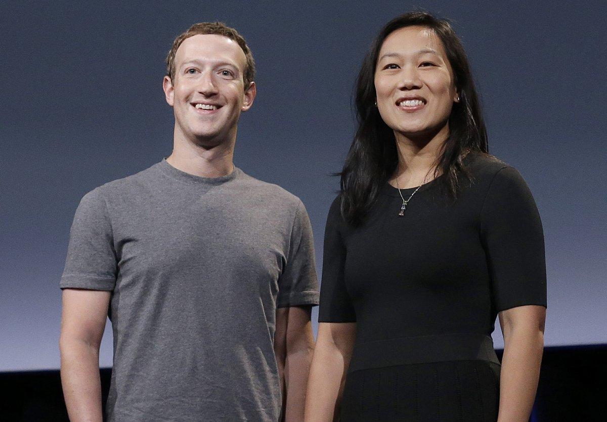 脸书创办人扎克伯格华裔妻子又怀孕 将迎来第二个女儿_图1-1
