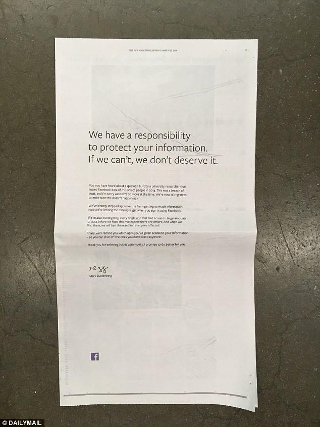 Facebook CEO扎克伯格决定出席国会听证 科技股大跌_图1-5