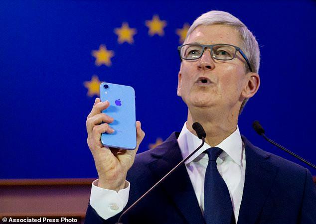 苹果CEO库克现身欧州信息隐私大会 就保护数据隐私发表迄今最强硬表态_图1-3