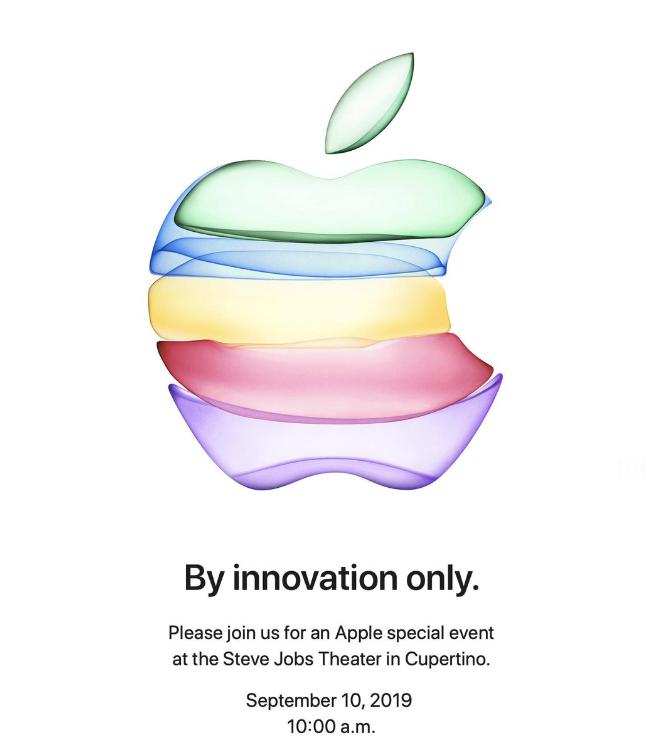 苹果秋季新品发布会日期定了 iPhone 11要来了!_图1-1