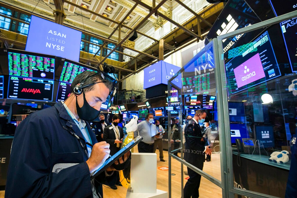 美股急跌后反弹 鲍威尔发声安抚市场情绪_图1-3