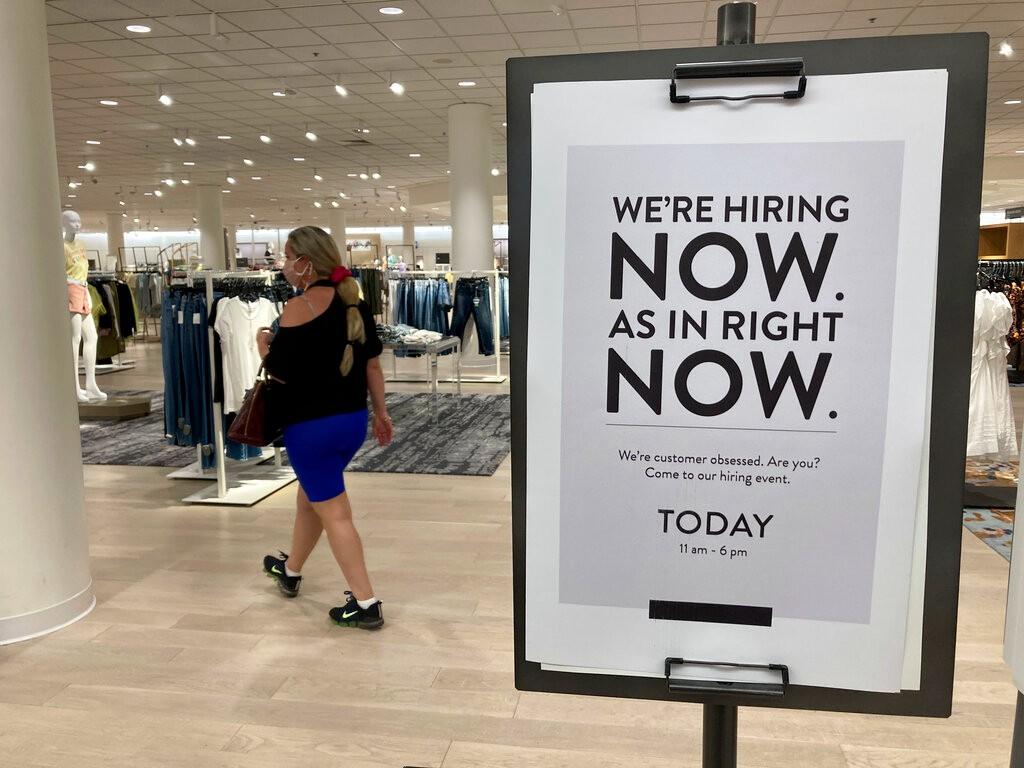 8月新增就业23.5万远不及预期 创1月以来最小增幅_图1-1