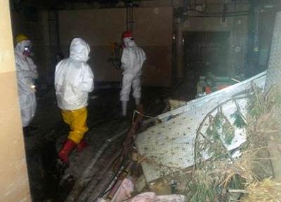 日本公开福岛核电站内废弃物处理设施照片