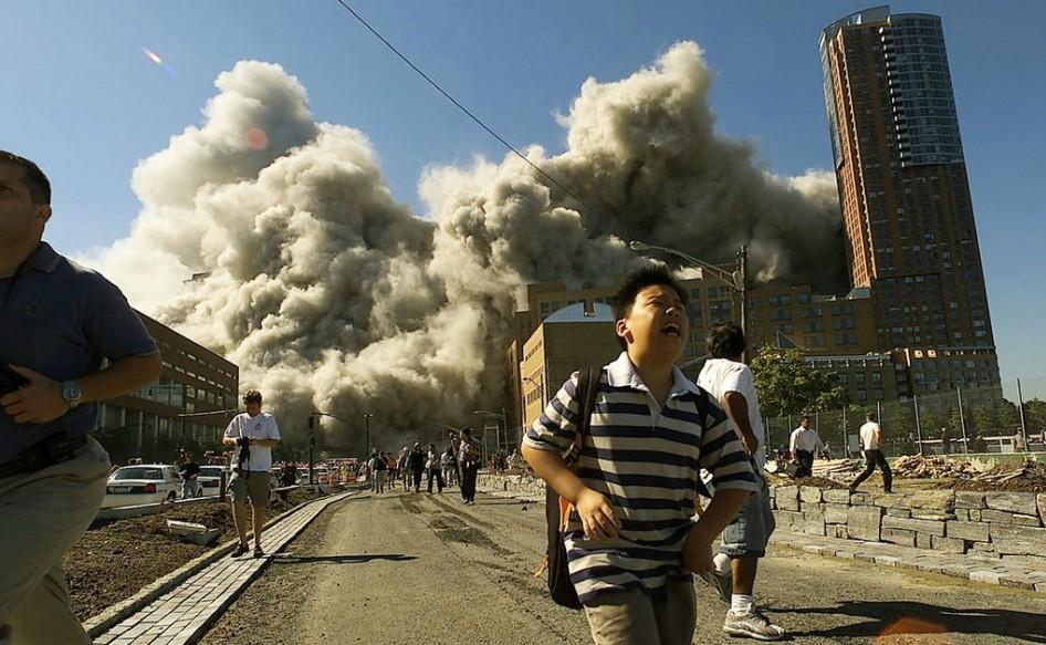 2001年9月11日 美国纽约
