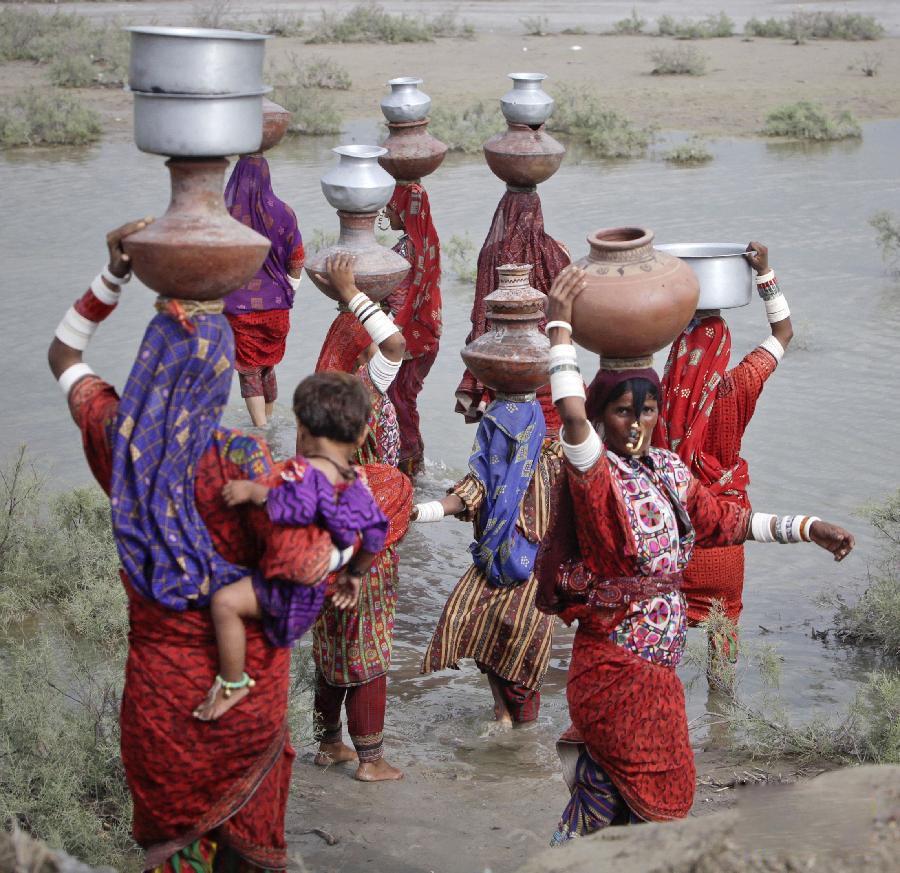 巴基斯坦/巴基斯坦国家灾难管理局22日说,南部信德省等地一个多月来季风...