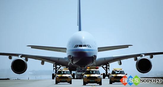 南航首架空中客车a380客机