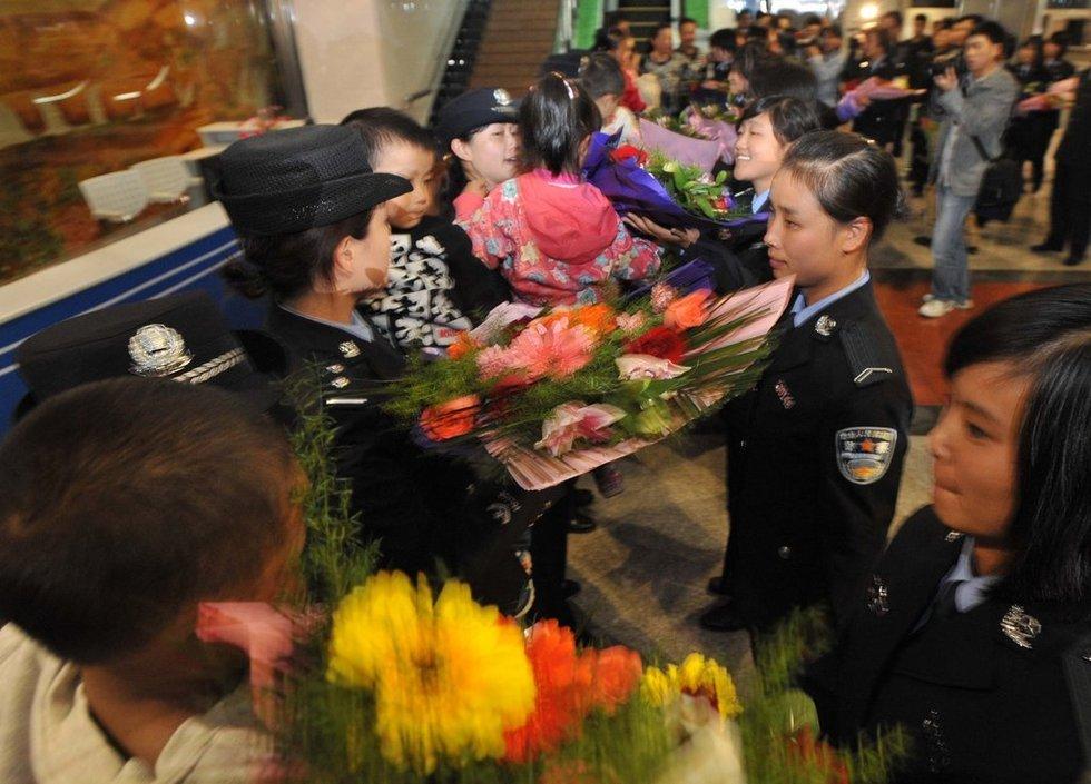 贵州警方解救17名被拐儿童