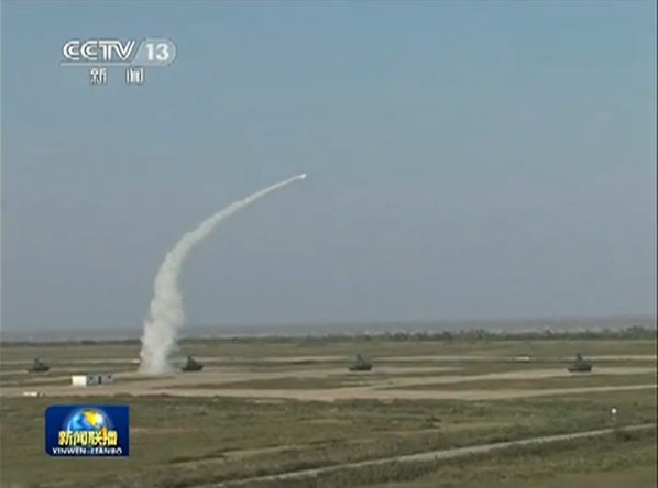 中国解放军新型防空火力网正式亮相