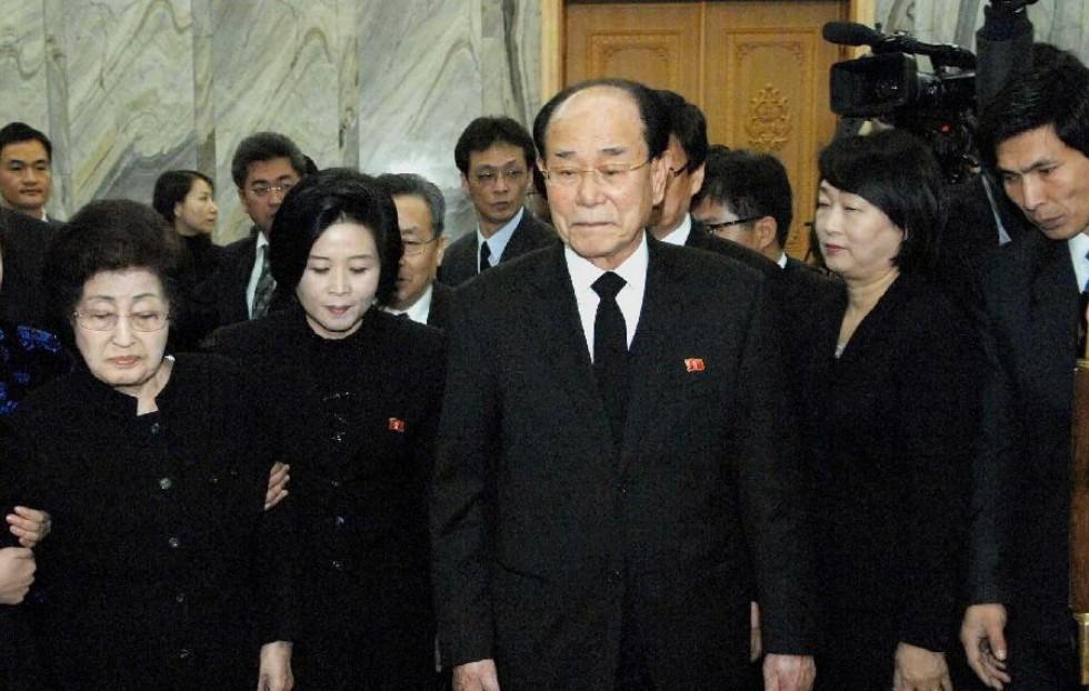 朝鲜领导人会见韩国吊唁团一行