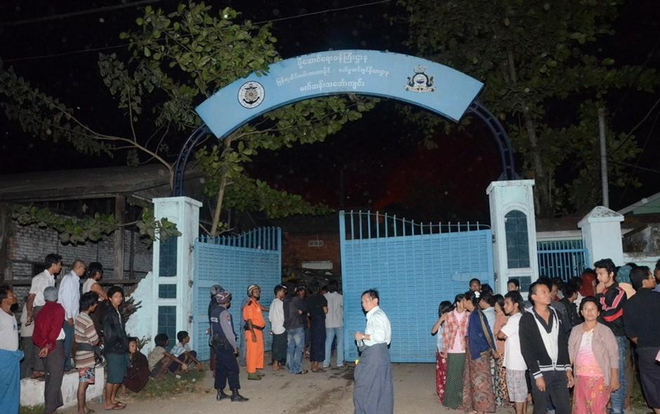 缅甸仰光一仓库爆炸 已致数十死伤