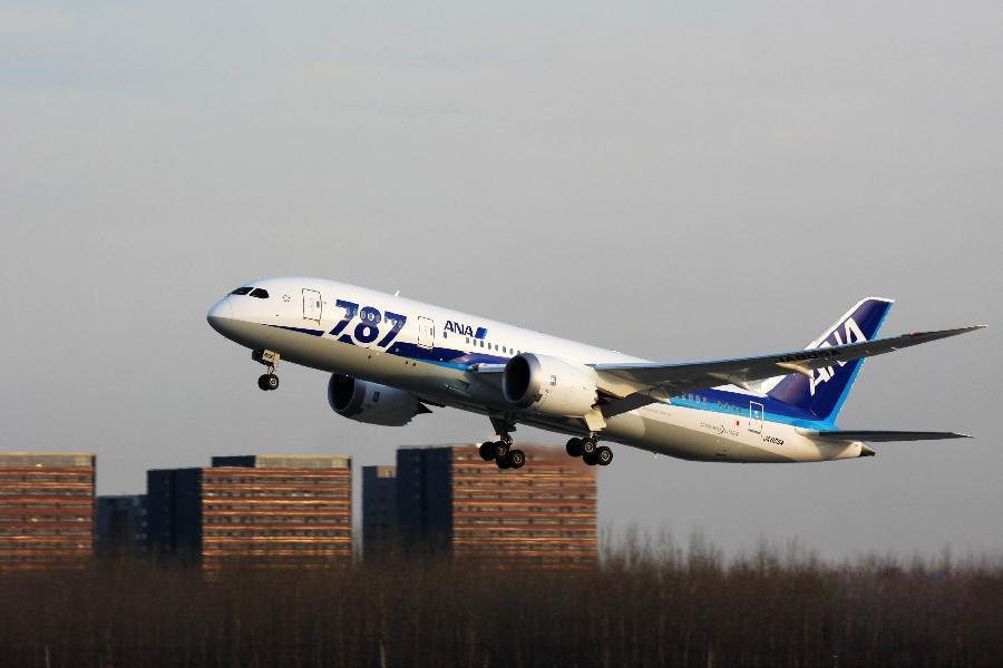 波音787客机北京首都国际机场; 首都机场迎来首个波音787商业运营航班