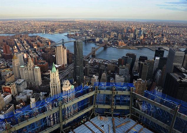 """""""自由塔""""为纽约重夺世界高度"""