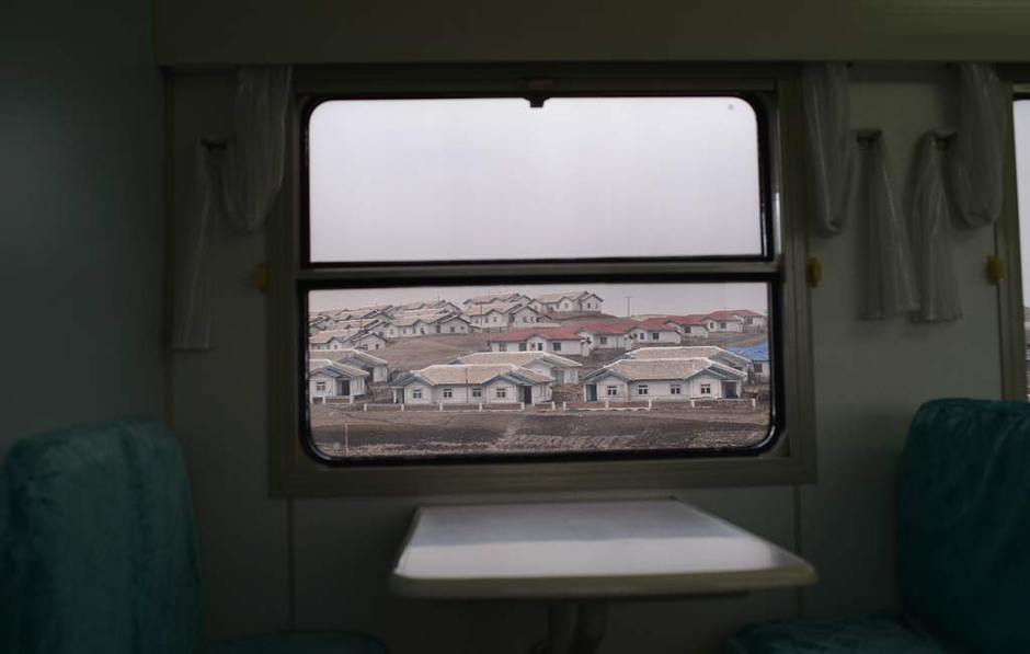 记者镜头下的朝鲜乡间