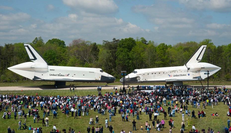 所有航天飞机中机龄最大也是服役时间最长的航天飞机