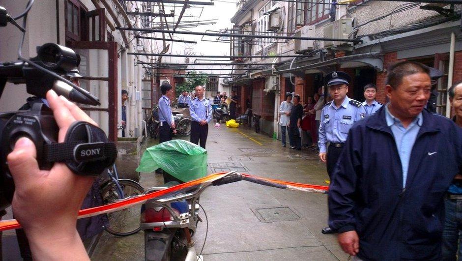 上海一男子因狗粪刺死邻居