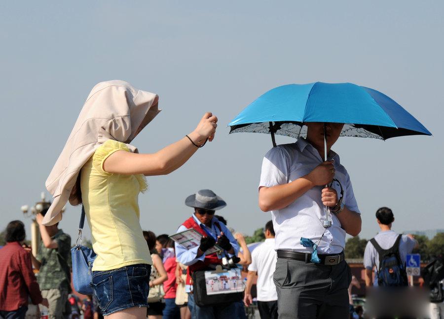 京城气温创下2012年以来新高