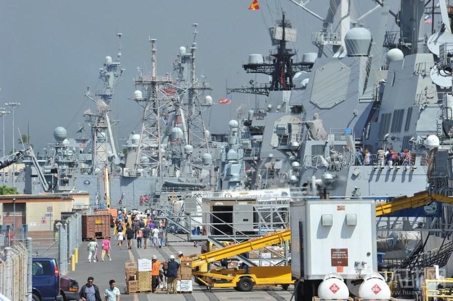 世界最大军演:环太平洋军演参演战舰扫描