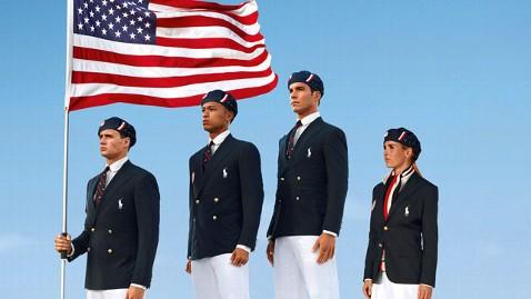 美奥运代表团制服:中国制造_图1-1