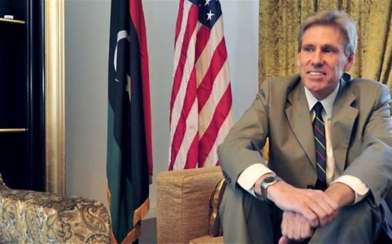 国驻利比亚大使史蒂文斯-推翻卡扎菲关键人物的美大使为何遭杀