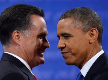 美国大选投票还有两天 两位竞选人在关键州最后冲刺 2012年11月3日