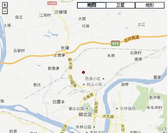 [柳州地震]工作队前往现场 暂未接到伤亡报告(图)