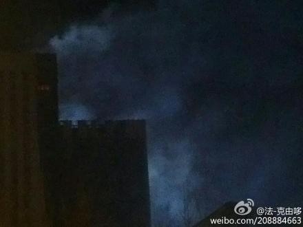 天津华苑鑫茂科技园突发大火