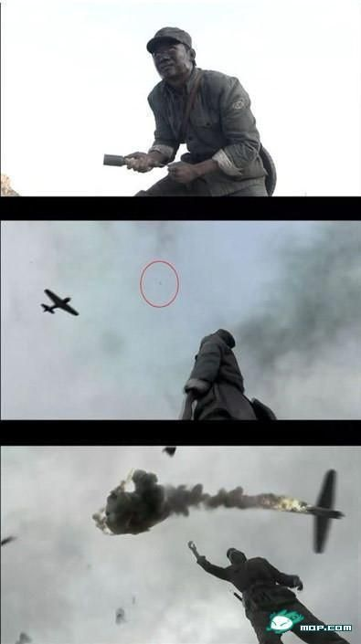 飞机算个毛, 看我八路的手榴弹