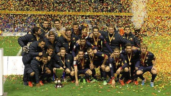 巴萨通过点球大战赢得加泰罗尼亚杯冠军(1-1)
