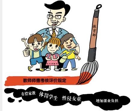 """中国教师告别铁饭碗 道德红线能否遏止""""禽兽校长"""""""
