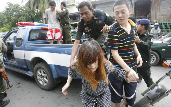 中国 毒贩/外交部3日宣布,中国当天已处决走私海洛因的一名菲律宾女毒贩。...