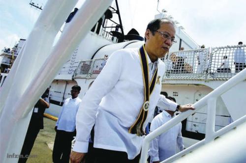 中国 黄岩岛/菲律宾在南海问题上持续与中国对抗