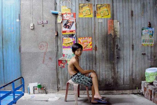 博特,13岁,来自曼谷