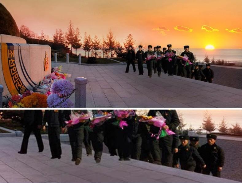 朝鲜新闻假照