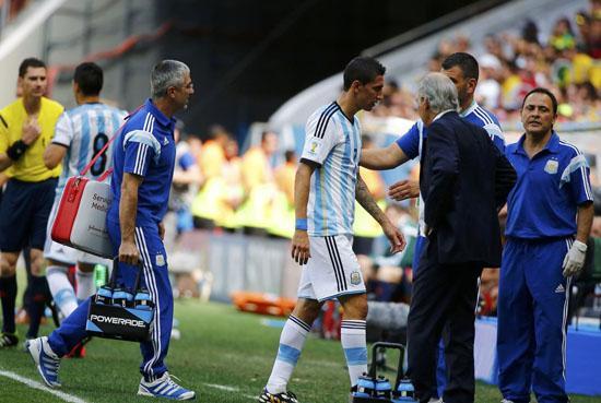 阿根廷遭重大打击 外媒曝迪马利亚伤别世界杯