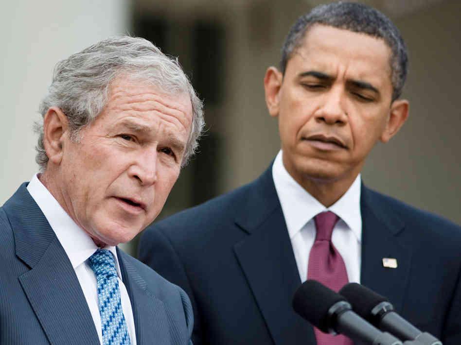 奥巴马支持率仅相当于布什