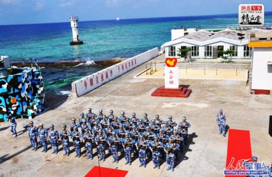 中国砸500亿人民币南海填海造岛
