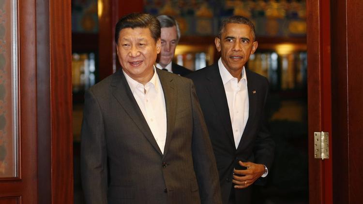 习近平宴请奥巴马:我们都要站得高、看得远推动中美关系向前_图1-1
