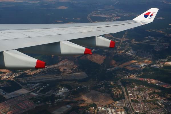 上海飞吉隆坡班机因故折返